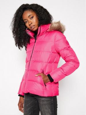 Calvin Klein Kurtka puchowa Essential Real K20K202317 Różowy Regular Fit