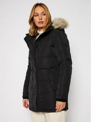 Calvin Klein Jeans Kurtka zimowa J20J215002 Czarny Regular Fit