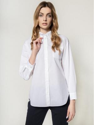 Emporio Armani Koszula 3H2C68 2N0FZ 0100 Biały Regular Fit