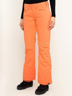Roxy Spodnie snowboardowe Backyard ERJTP03091 Pomarańczowy Slim Fit