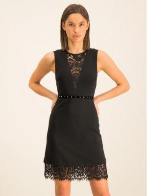 Liu Jo Sukienka koktajlowa C69235 J0588 Czarny Slim Fit
