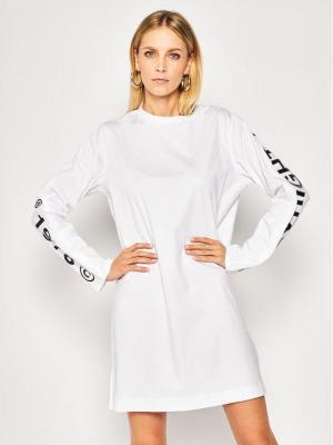 Diesel Sukienka codzienna T-Rosy 00SEHM 0QANW Biały Regular Fit