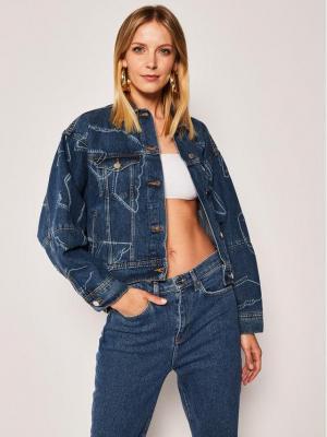Emporio Armani Kurtka jeansowa 3H2B88 2D5XZ 0941 Niebieski Regular Fit