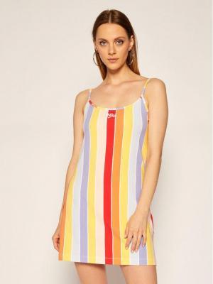 NIKE Sukienka letnia Sportswear CJ2504 Kolorowy Tight Fit