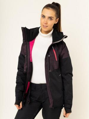 Roxy Kurtka snowboardowa Frozen Flow ERJTJ03219 Kolorowy Short Fit