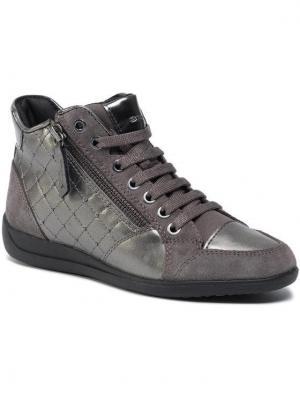 Geox Sneakersy D Myria C D6468C 0AJ22 C1115 Srebrny