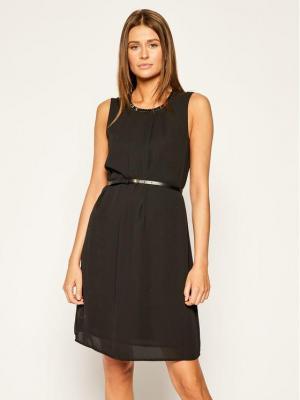 Liu Jo Sukienka koktajlowa W69053 T5614 Czarny Slim Fit