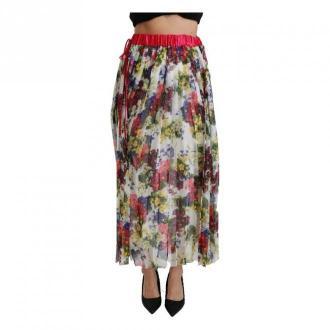 Dolce & Gabbana Spódnica Maxi Iść Spódnice Biały Dorośli Kobiety