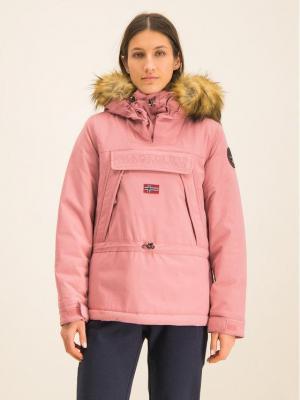 Napapijri Kurtka zimowa Skidoo EF 2 N0YI5A Różowy Regular Fit