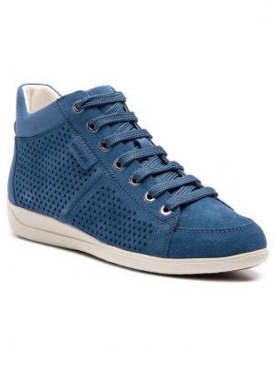 Geox Sneakersy D Myria B D8268B 00022 C4008 Niebieski