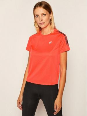 Asics Koszulka techniczna Icon Ss 2012B044 Pomarańczowy Regular Fit