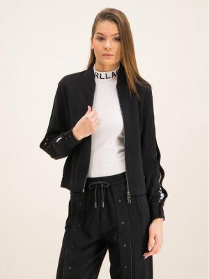 KARL LAGERFELD Bluza 96KW1402 Czarny Regular Fit