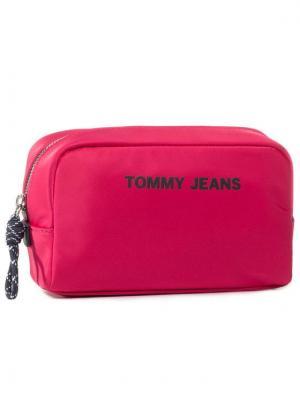 Tommy Jeans Kosmetyczka Tjw Nautical Mix Washbag AW0AW08415 Różowy