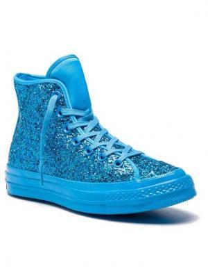 Converse Sneakersy Chuck 70 Hi 162473C Niebieski