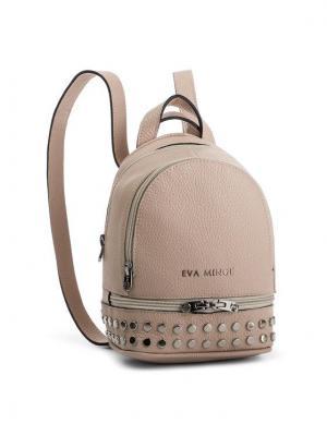 Eva Minge Plecak EM-17-05-000149 Beżowy