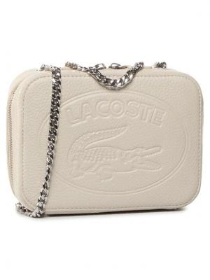 Lacoste Torebka Crossover Bag NF2970NL Beżowy