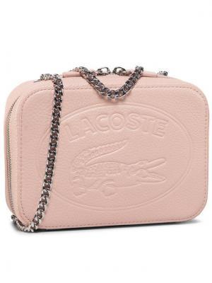 Lacoste Torebka Crossover Bag NF2970NL Różowy