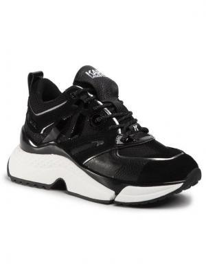 KARL LAGERFELD Sneakersy KL61635 Czarny