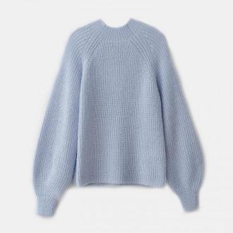 Mohito - Sweter z metalizowaną nitką - Niebieski