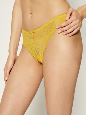 Gossard Stringi Superboost Lace 7716 Żółty
