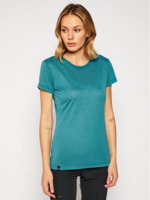 Salewa T-Shirt Solid Dry 27019 Niebieski Regular Fit