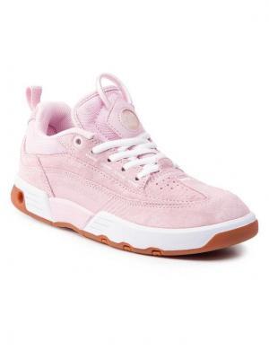DC Sneakersy Legacy 98 Slim ADJS200022 Różowy