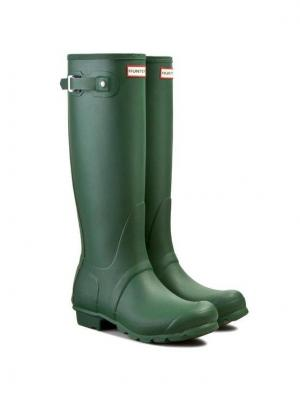 Hunter Kalosze Womens Org Tall WFT1000RMA Zielony