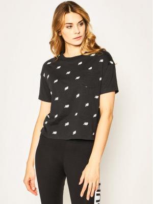 New Balance T-Shirt Oz Mini WT01853 Czarny Oversize