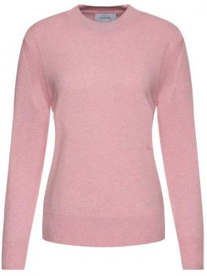 Calvin Klein Sweter Cashmere Crew Neck K20K201347 Różowy Regular Fit