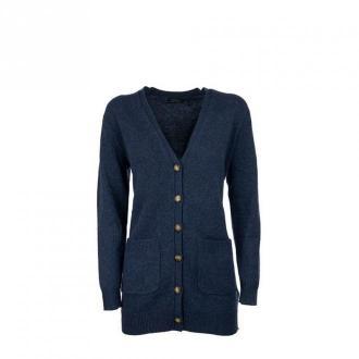 Ralph Lauren V-neck cardigan Swetry i bluzy Niebieski Dorośli Kobiety