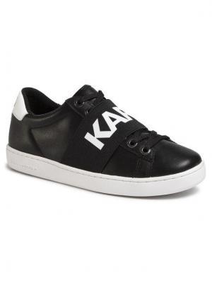 KARL LAGERFELD Sneakersy KL61236 Czarny