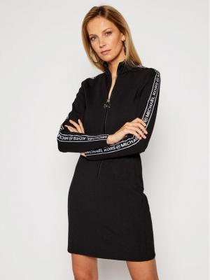 MICHAEL Michael Kors Sukienka codzienna MF0804MFLL Czarny Regular Fit