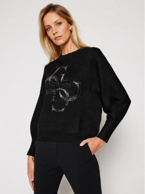 Guess Sweter Summer W0BR69 Z26I0 Czarny Regular Fit