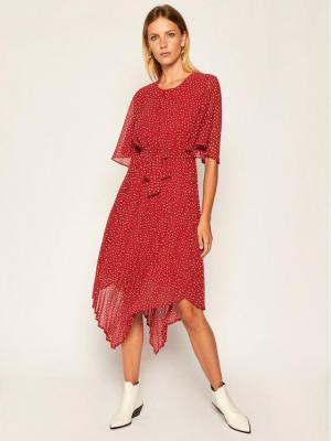 Pepe Jeans Sukienka codzienna Piluca PL952710 Czerwony Regular Fit