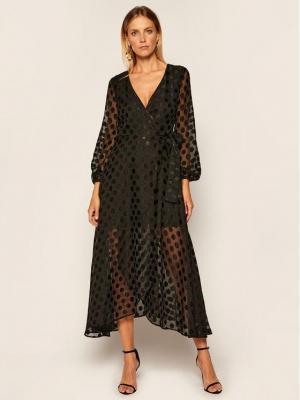 Guess Sukienka wieczorowa Bertha W0YK1A WD3C0 Czarny Regular Fit