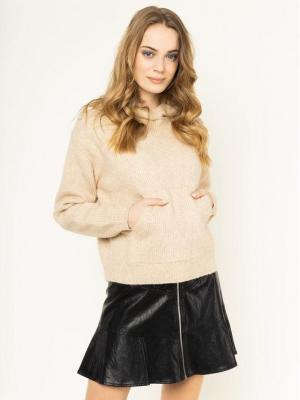 Pepe Jeans Sweter Yena PL701572 Beżowy Regular Fit
