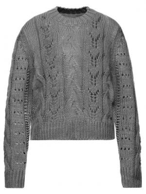 Pepe Jeans Sweter Candela PL701516 Szary Regular Fit