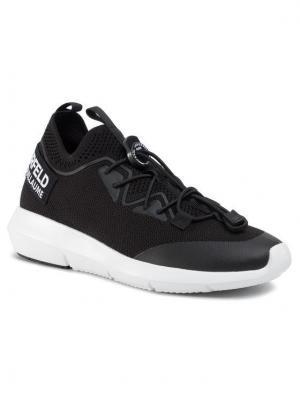 KARL LAGERFELD Sneakersy KL61111 Czarny