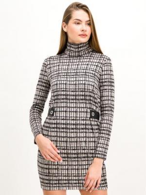 Patrizia Pepe Sukienka koktajlowa 2A1981/A5U8 FBB6 Beżowy Slim Fit