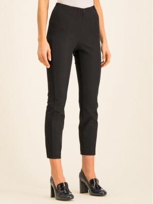 TOMMY HILFIGER Spodnie materiałowe Ankle WW0WW25881 Czarny Regular Fit
