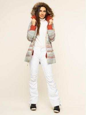 Burton Kurtka snowboardowa Lelah 20541101960 Zielony Slim Fit