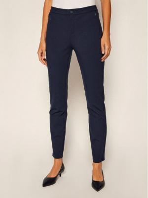 TOMMY HILFIGER Spodnie materiałowe Heritage WW0WW01345 Granatowy Skinny Fit