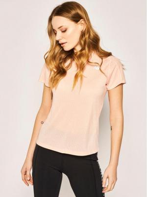 New Balance T-Shirt Impact WT01234 Różowy Athletic Fit