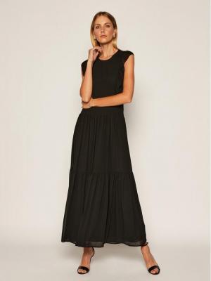 MICHAEL Michael Kors Sukienka wieczorowa Del 3 MU08ZU37R3 Czarny Regular Fit