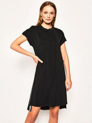 KARL LAGERFELD Sukienka codzienna Cady 201W1300 Czarny Regular Fit
