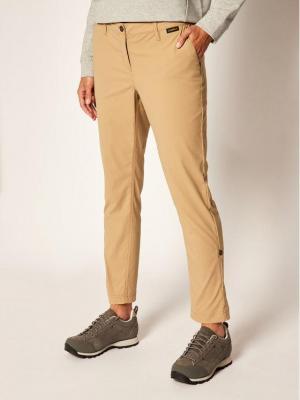 Jack Wolfskin Spodnie outdoor Desert Roll-Up 1505281 Beżowy Regular Fit