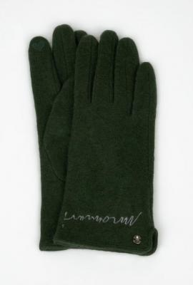 Rękawiczki z napisem