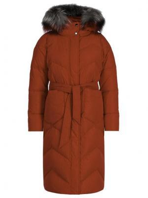 Marella Sport Płaszcz zimowy Arnes 34960299 Czerwony Regular Fit