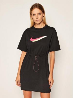 Nike Sukienka letnia Sportswear CU5172 Czarny Loose Fit