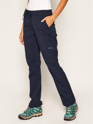 Jack Wolfskin Spodnie outdoor Activate Light 1503842 Granatowy Regular Fit
